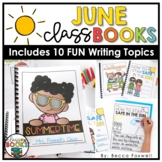 June Writing Prompts & Class Book Covers