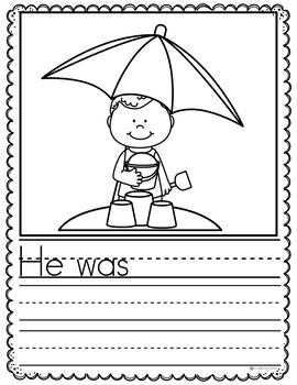 June Writing Prompts {PRESCHOOL}