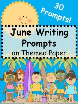 June Writing Prompts on Themed {Just Print & Go!}