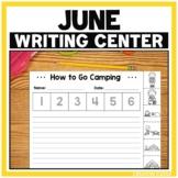 June Writing Station