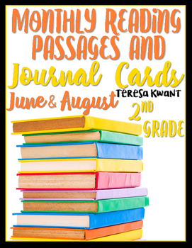 June and August 2nd Grade Reading Passages