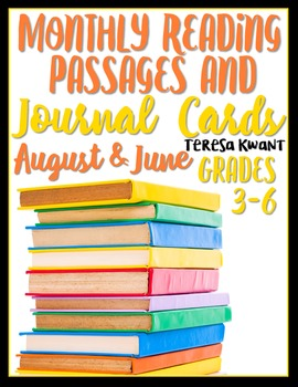 June and August Reading Passages