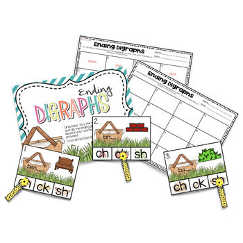 June and July Centers -- Kindergarten ELA ONLY