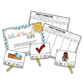 June and July Centers -- Kindergarten Math and ELA