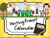 June and Summer Writing Prompt Calendar ~ End Of The Year