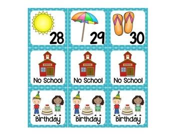 June calendar days