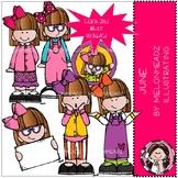 June clip art - Mini - Melonheadz Clipart