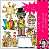June clip art - Mini - by Melonheadz