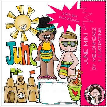 June clip art - Mini - Melonheadz Clipart by Melonheadz | TpT