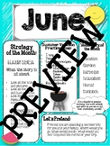 June newsletter Speech language therapy main idea