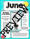 June newsletter Speech language therapy main idea