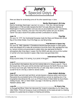 June's Special Days