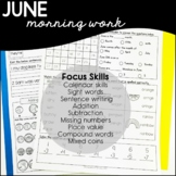 June/Daily Skills Practice / Special Eduction / Morning Work