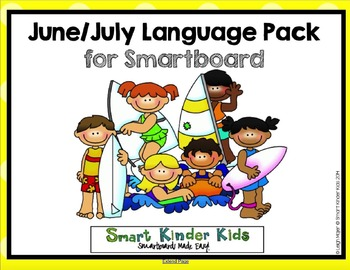June/July Language Pack for Smartboard