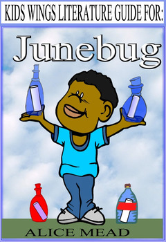 JUNEBUG by Alice Mead with activities based on RESILIENT CHILD RESEARCH