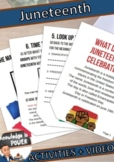 Juneteenth Activities + Crafts | Distance Learning
