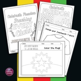 Juneteenth - Black History Month Coloring & Drawing Activities Mini Bundle