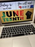 Juneteenth Black History Presentation