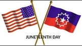 Juneteenth Day - Power Point - History Facts Celebrations