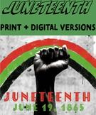 Juneteenth Digital Activities