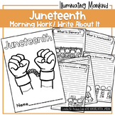 Juneteenth Freebie | Illuminating Mankind