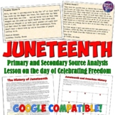 Juneteenth Lesson