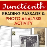 Juneteenth: Reading Passage & Comprehension Questions & Primary Source Analysis