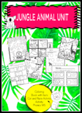 Jungel Themed Unit | Phonics, Counting, Adding & Subtracting and More
