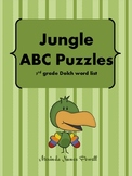 Jungle ABC Puzzles (3rd grade Dolch)