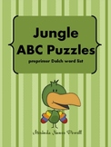 Jungle ABC Puzzles (preprimer Dolch)