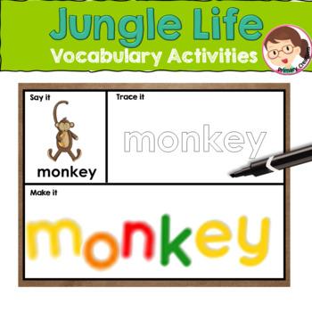 Jungle Activities for Preschool and PreK