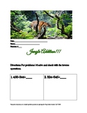 Jungle Addition: 3 digit addition with regrouping