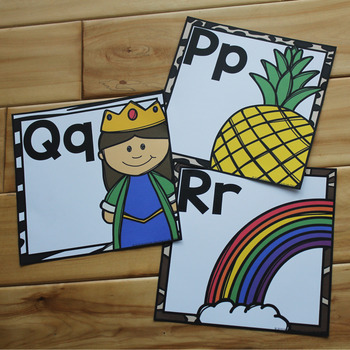 Jungle Alphabet Posters