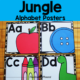 Jungle Alphabet Posters