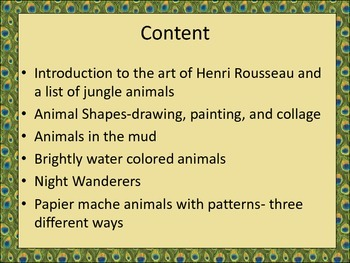 Jungle Animal Art Projects