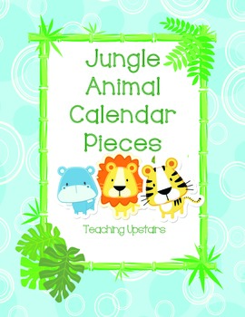 Wild About Learning: Calendar Pieces