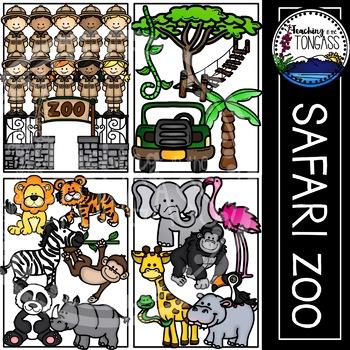 Jungle Clipart (Zoo Clipart)
