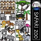 Zoo Clipart (Zoo Animal Clipart | Jungle Clipart | Safari Clipart)