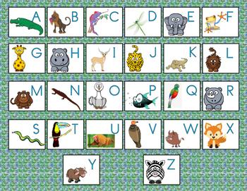 Jungle Animal Game