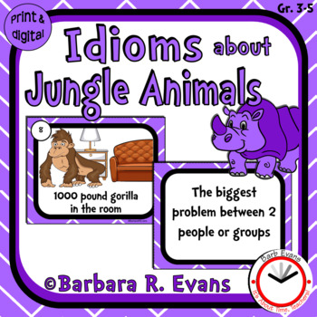 Idioms about Jungle Animals