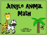 Jungle Animal Math Pack