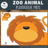 Jungle Animal Playdough Mats