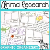 Jungle Animal Research Graphic Organizers