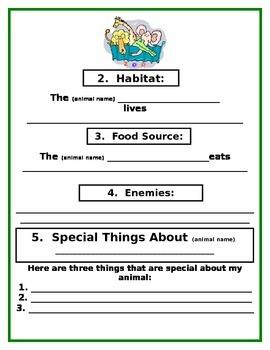 Jungle Animal Science Report