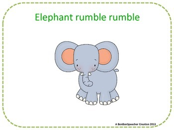 Zoo Animal Sounds Book