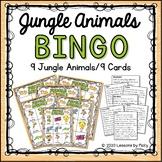 Jungle Animals Bingo