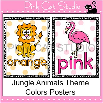 Jungle Theme Colors Posters