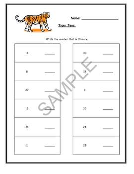"""Jungle Animals"" Common Core Aligned Math and Literacy Unit - SMARTBOARD EDITION"