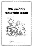 Jungle Animals Comprehension Book