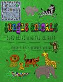 Jungle Animals [Cute Clips Digital Clipart]